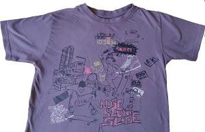 T-shirt imprimé Skate