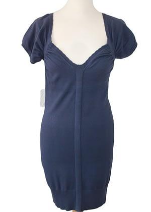Robe bleu nuit Morgan