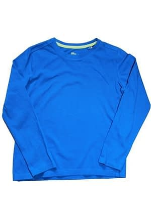 T-Shirt uni bleu