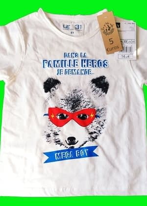 T-shirt Famille de héros