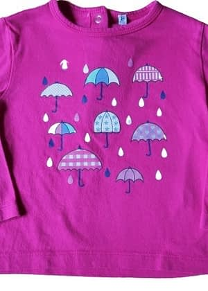 T-shirt ml parapluie