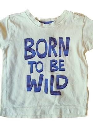 T-shirt jaune Born To Be Wild