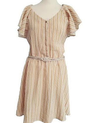 Belle robe Bonobo rayée