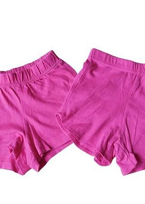Lot de 2 shorts rose