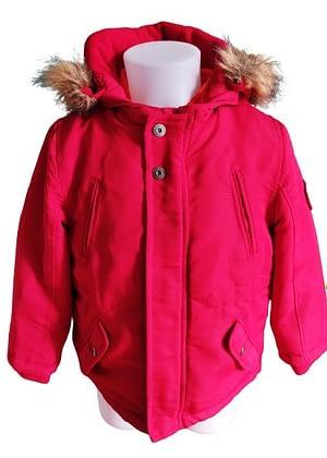 Manteau rouge double épaisseur