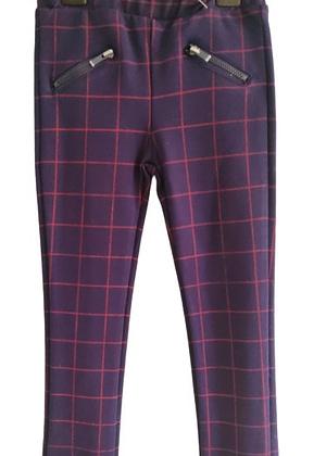 Pantalon a carreaux