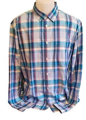 Chemise à carreaux Célio
