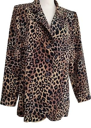 Veste fluide léopard
