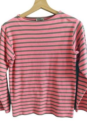 T-shirt rayé manches longues