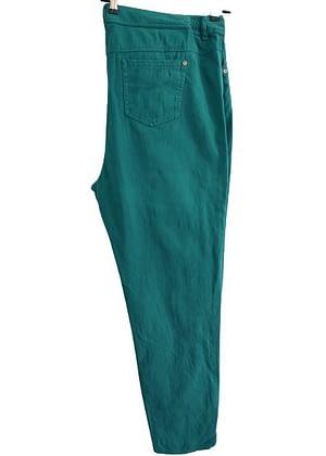 Jean vert émeraude