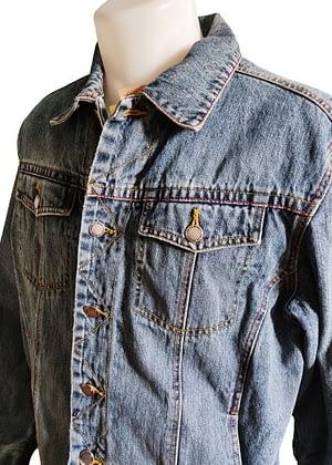 Veste en jean vintage