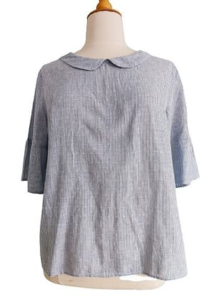 Belle blouse chambray coupe originale