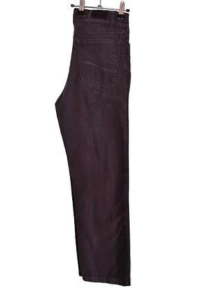 Pantalon noir en toile épaisse Celio