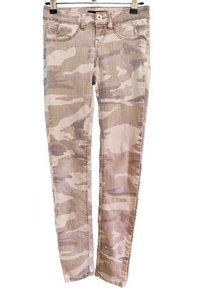 Jean camouflage délavé