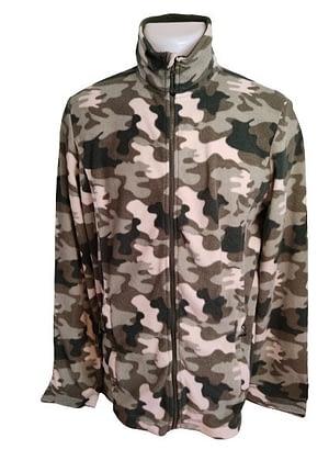 Veste polaire camouflage