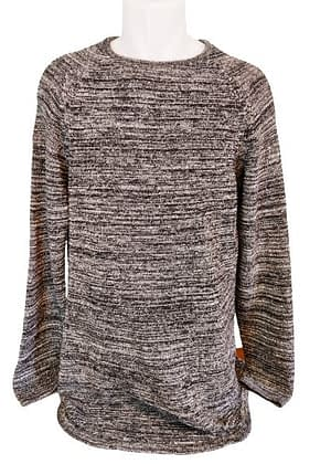Pull long Bershka coupe arrondie