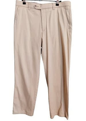 Pantalon chino sable Bruno Saint Hilaire