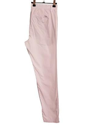 Pantalon chino blanc Pull&Bear