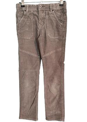 Pantalon en velours marron verbaudet