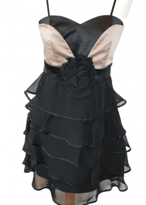 Sublime robe noire et mordoré Rinascimento