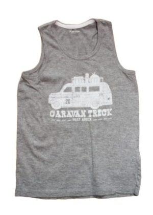 Débardeur gris Caravane