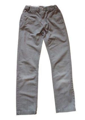 Pantalon fin gris