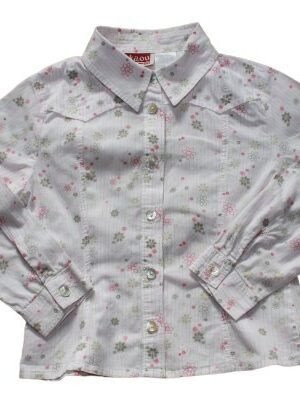 Chemise à fleurs