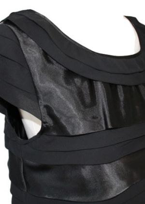 Robe noire Caroll
