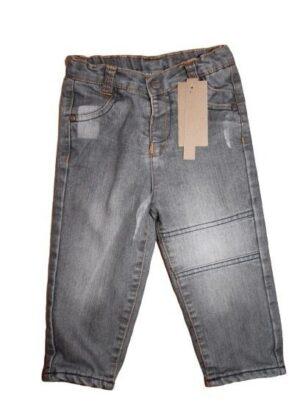 Jean gris doublé