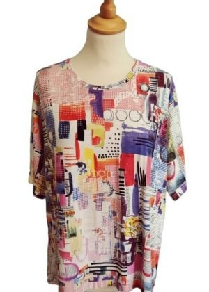 T-shirt coloré
