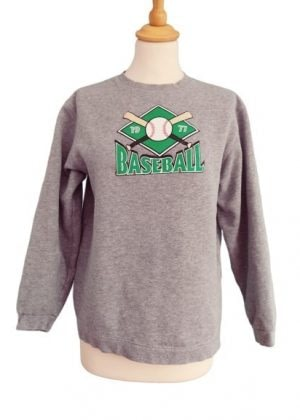 Sweat gris Baseball