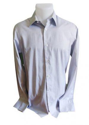 Chemise grise Fil à fil