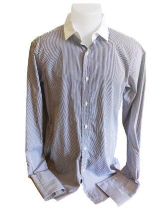 Chemise Ralph Lauren à rayures et manchettes