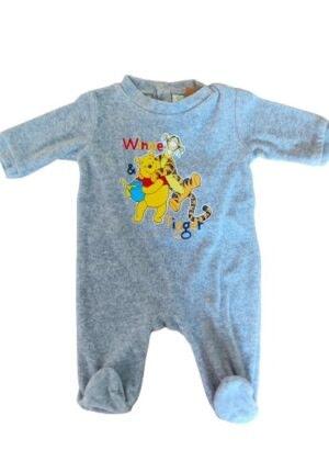 Pyjama gris Winnie et Tigrou