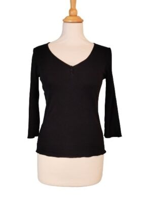 T-shirt manches longues noir phildar